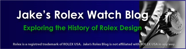 Jake's Rolex Watch Blog